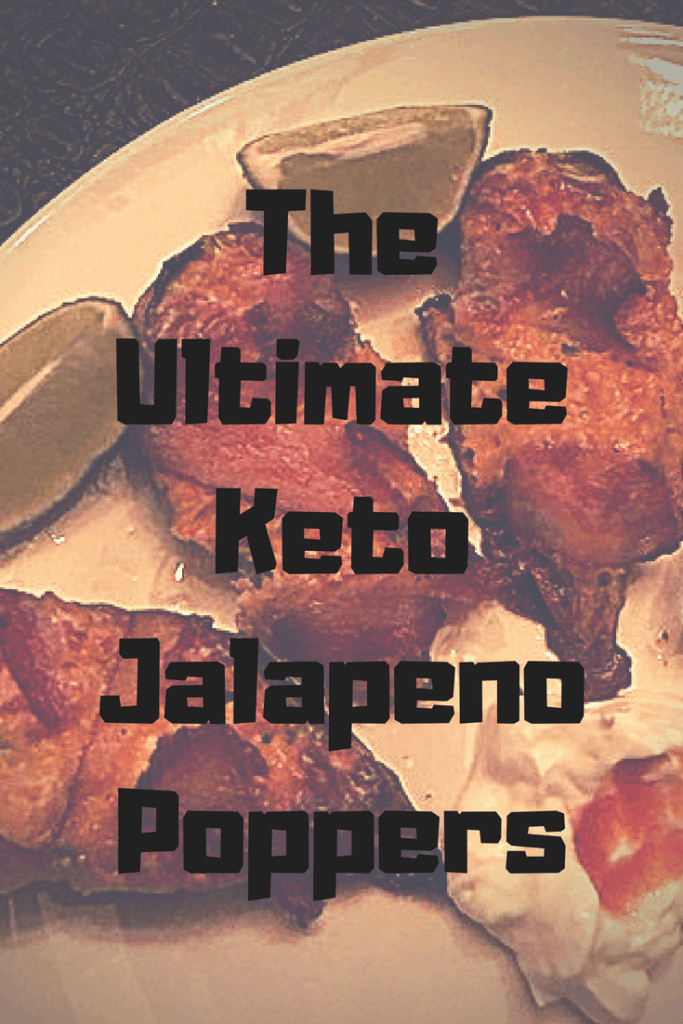 keto Jalapeno poppers