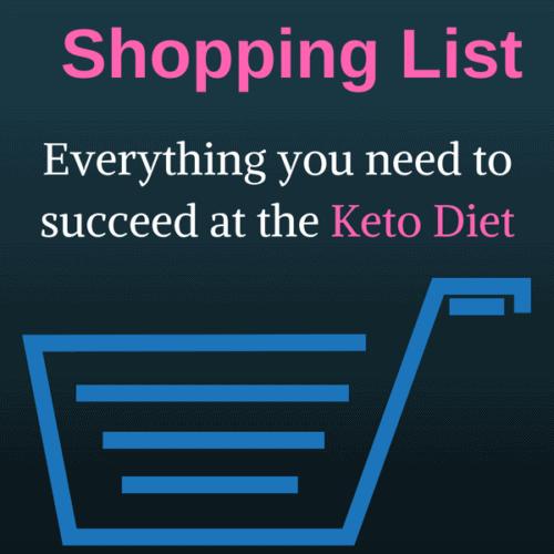 KETO Shopping List
