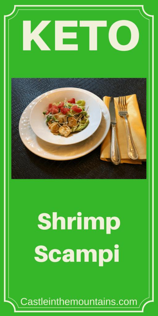 Keto Shrimp Scampi Recipe