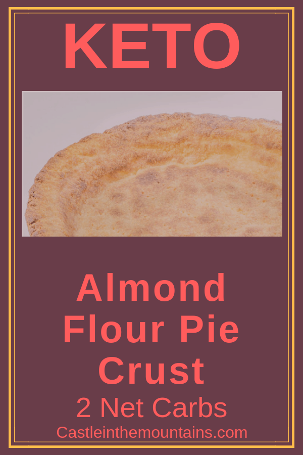 Keto almond Flour Pie Crust Recipe