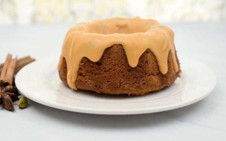 keto pumpkin pond cake