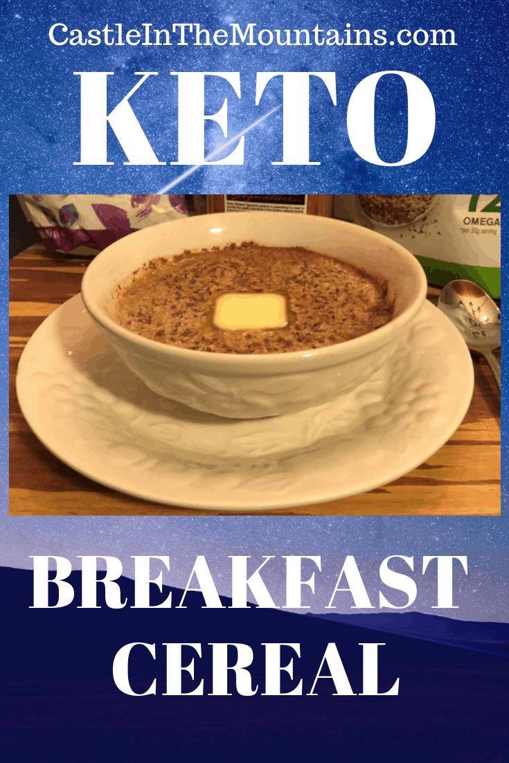Easy Breakfast Cereal - High fiber Cereal to Keep you Going!