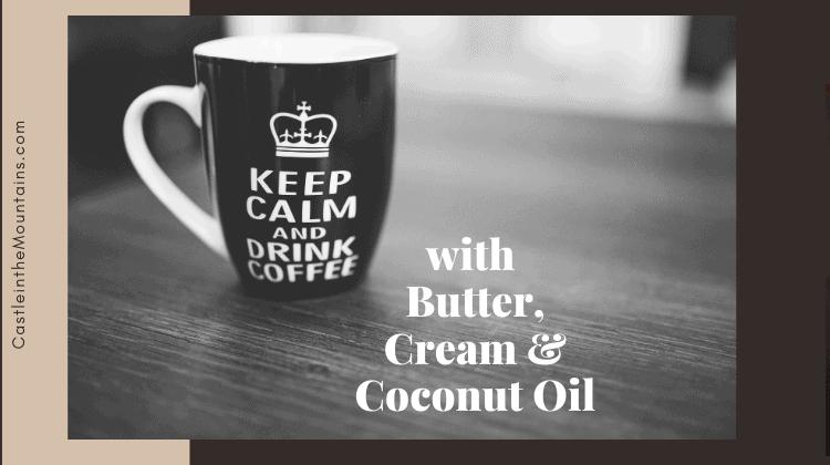 Bulletproof Coffee Butter Cream & Coconut Oil MCT oil