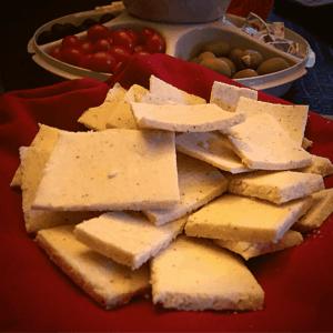Keto Almond Flour Crackers Recipe