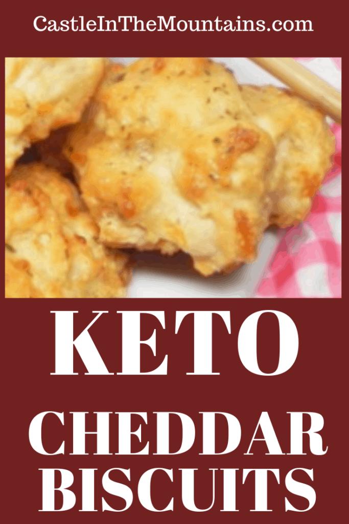 Keto Cheddar Biscuits Recipe