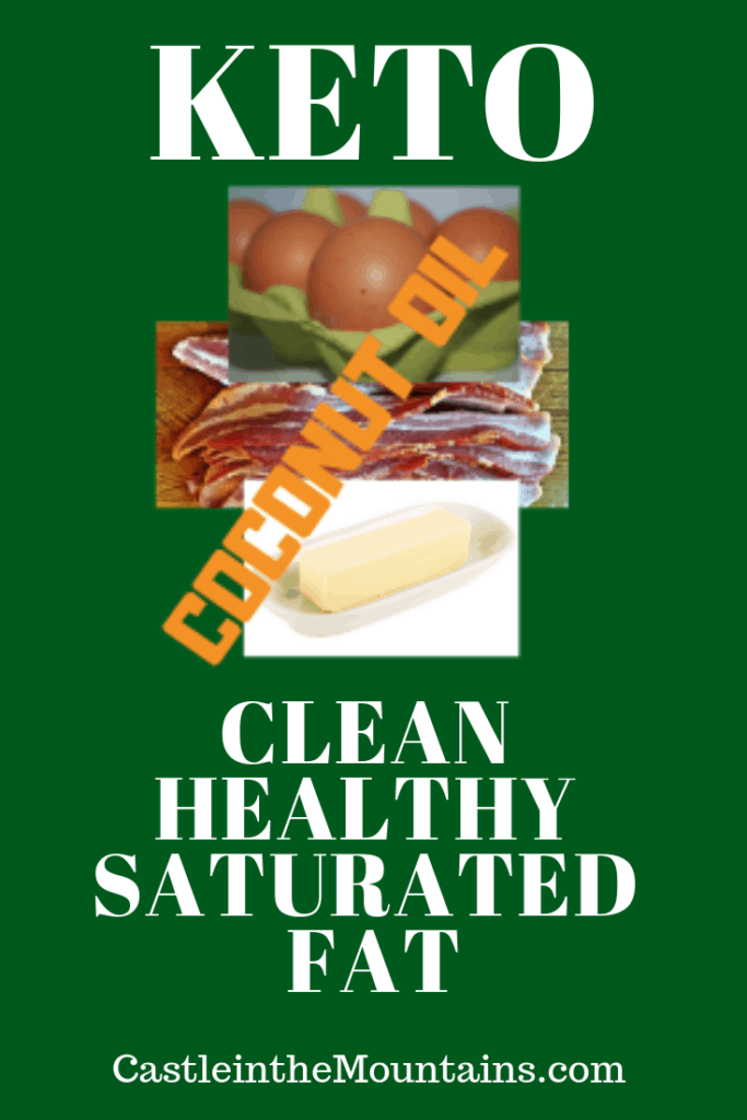 Keto Healthy Saturated Fat
