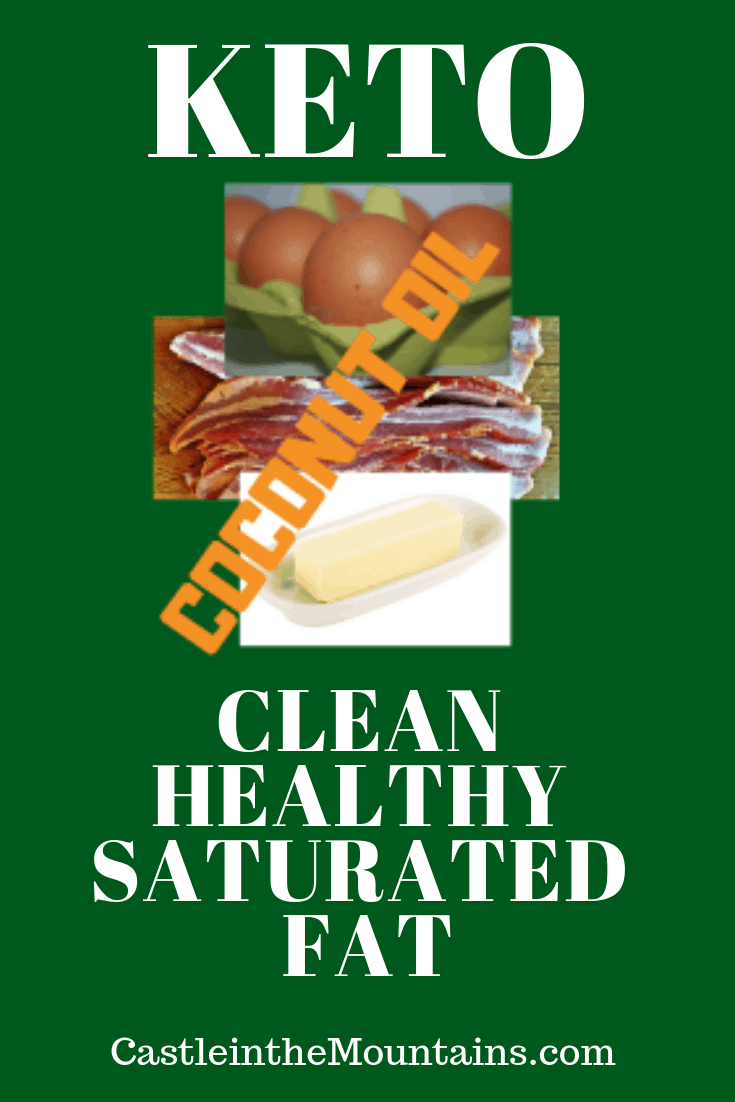 Keto and Healthy Saturated Fats