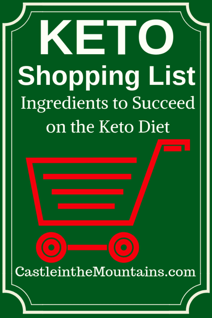 Keto Approved Shopping Lists