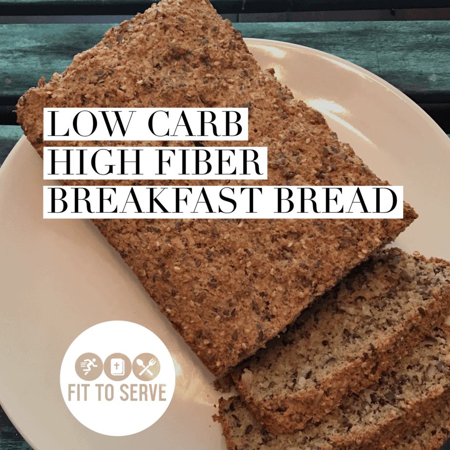 Low Carb high fiber bread