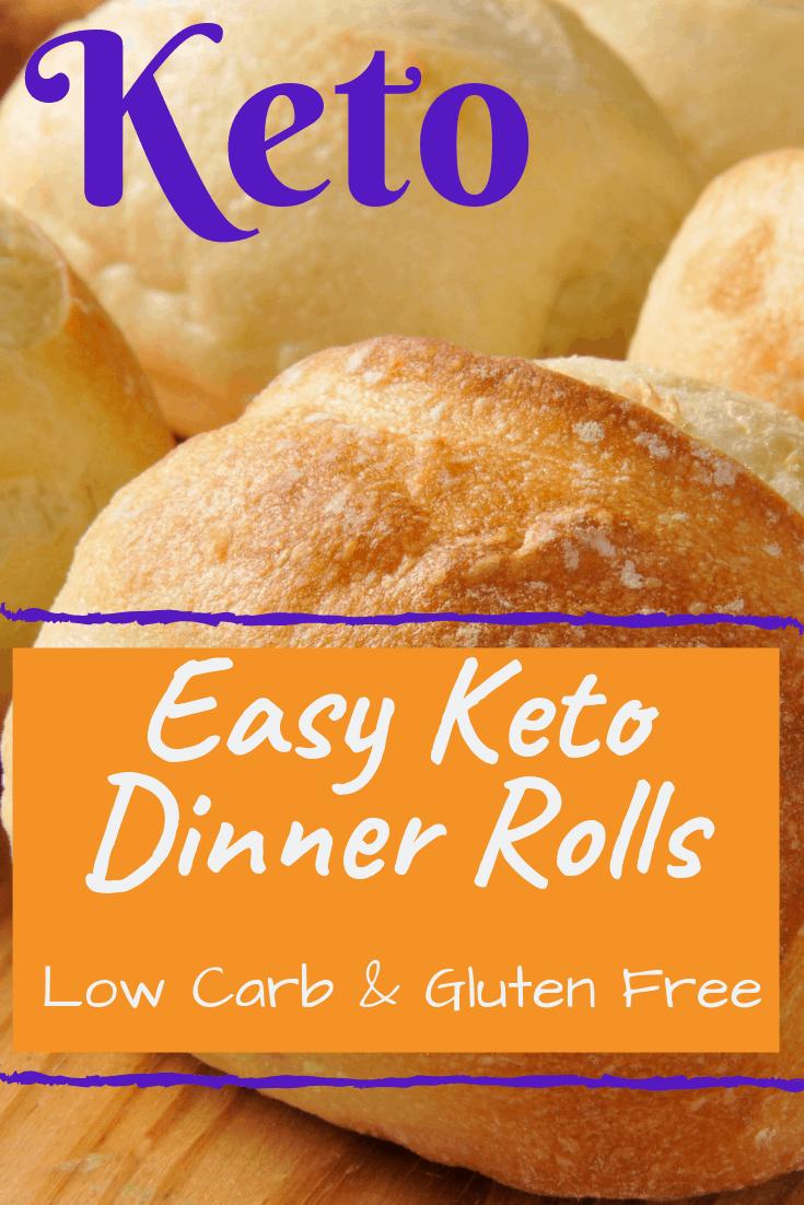 Easy Keto Garlic Dinner Rolls