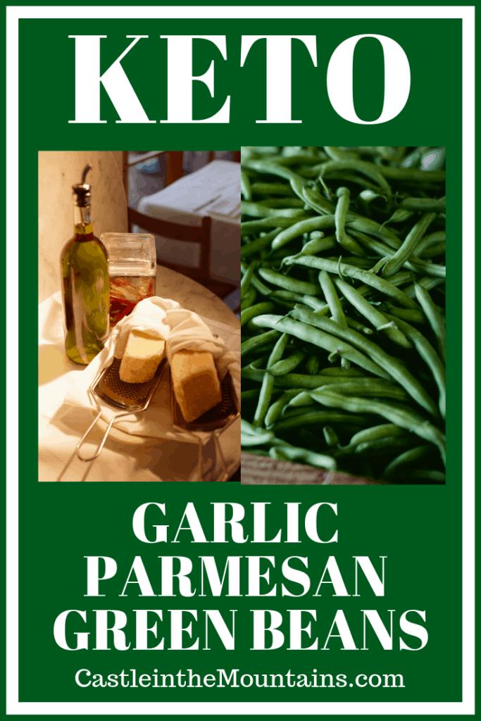 Easy Keto Parmesan Garlic Green Beans
