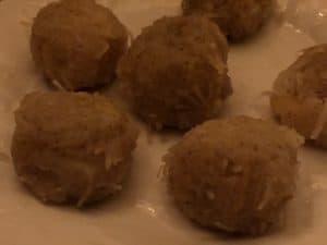 spaghetti squash balls
