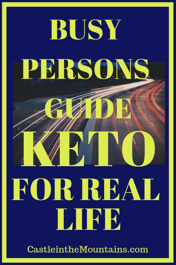 Keto Guide for Busy People