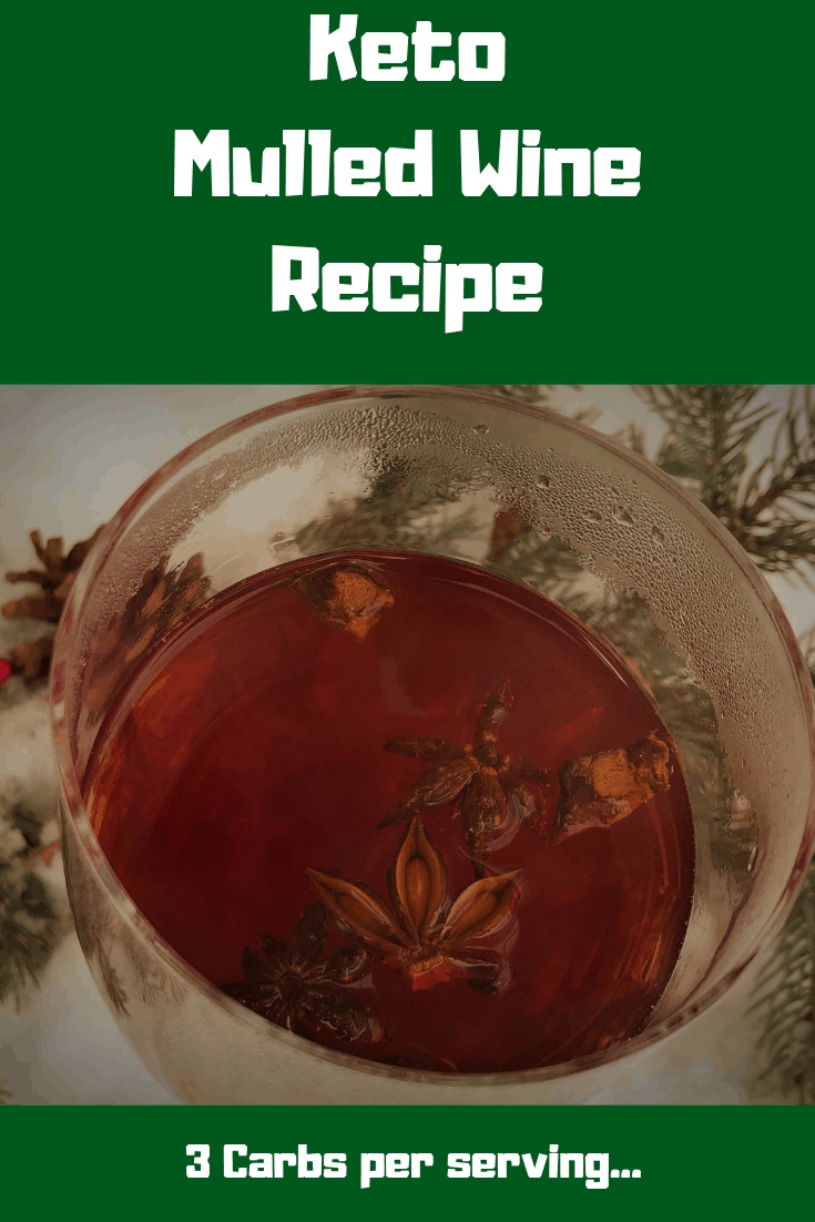 Low Carb Holiday Mulled Wine