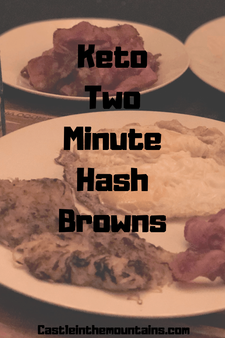 Keto Two Minute Hash Browns