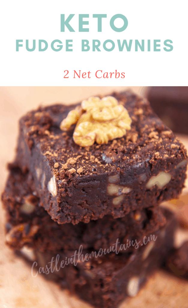 World's Best Keto Brownies Pins