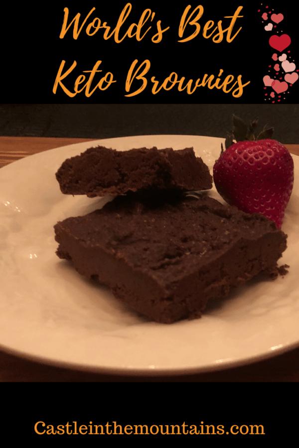 Worlds Best Keto Brownie