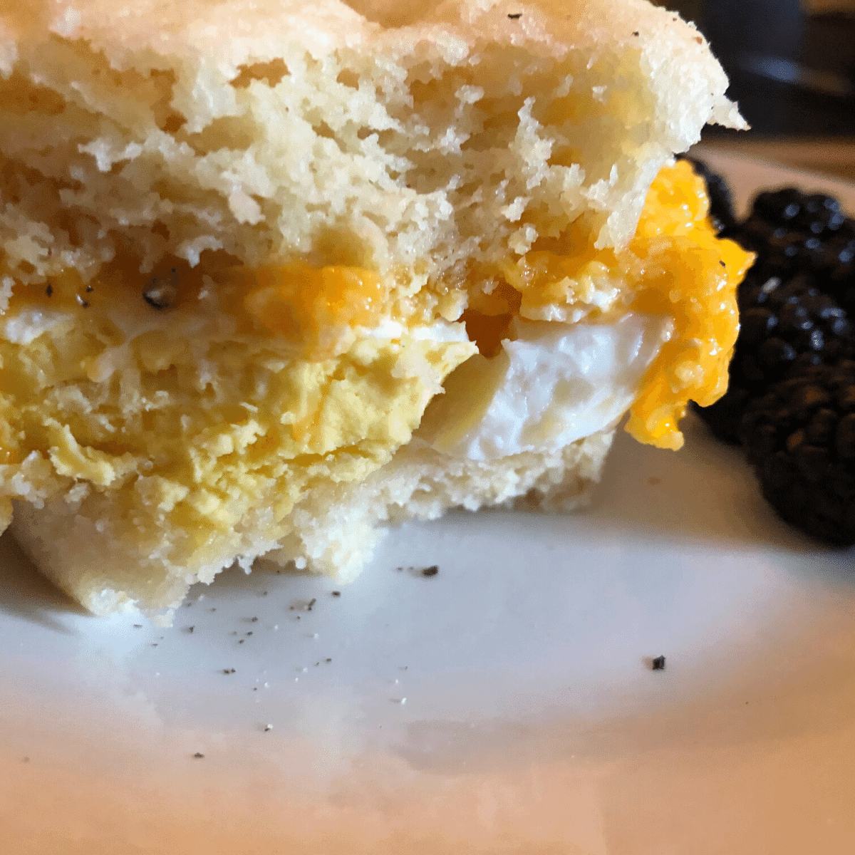 Keto Egg McMuffin recipe 5 minutes