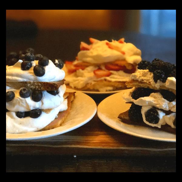 Keto Berry Shortcake