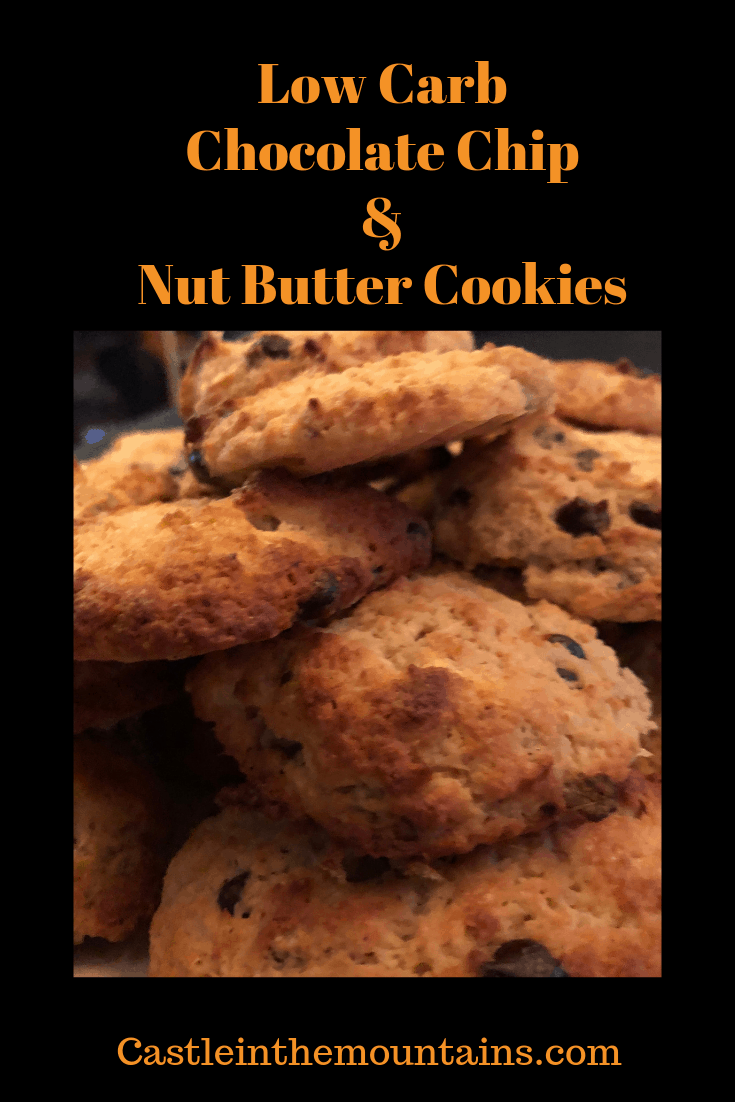 Low Carb Peanut Butter Chocolate Chip Cookies