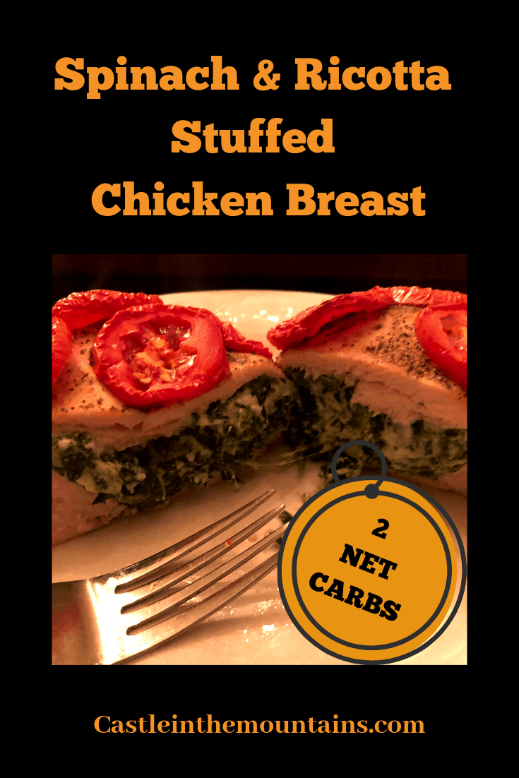 Spinach & Ricotta Stuffed Chicken Breast