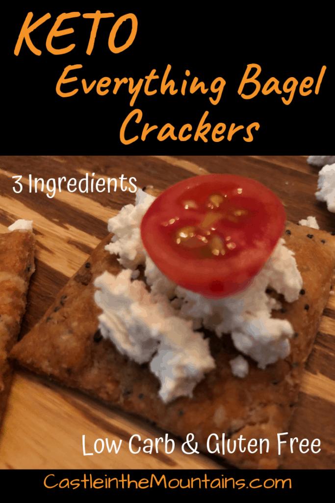 Keto Everthing Crackers