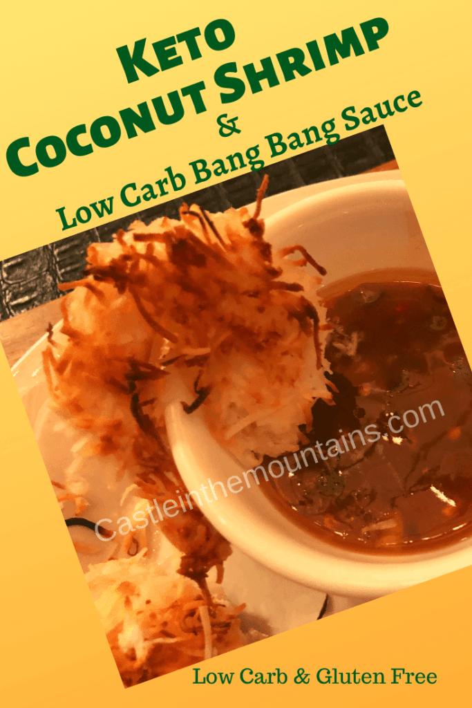 Delicious Keto coconut shrimp