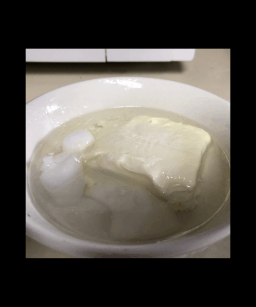 melted coconut oil