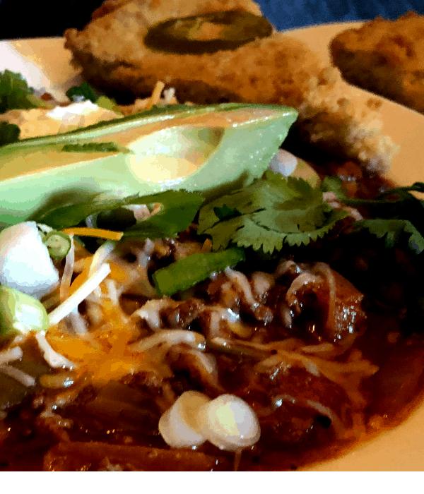 keto corn bread and low carb chili