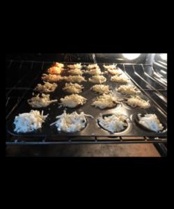 pizza bites in oven