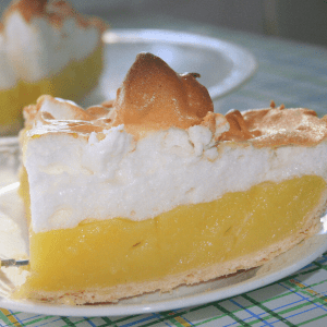 Low Carb Lemon Meringue Pie Recipe Keto gluten free dessert