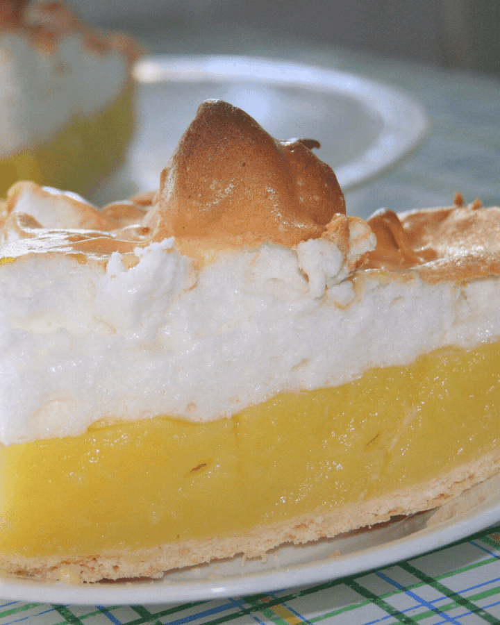 Low Carb Lemon Meringue Pie Recipe Keto gluten free dessert