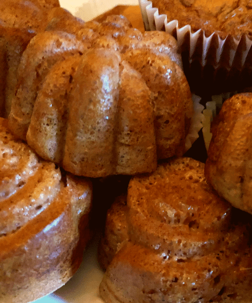 Keto French Toast Muffins fancy