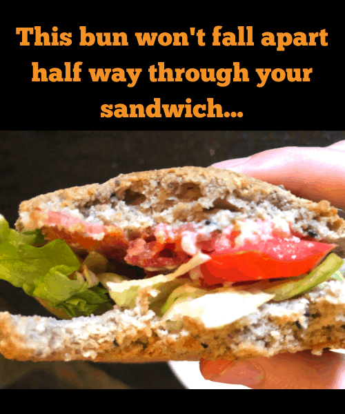 Psyllium Roll sandwich 3