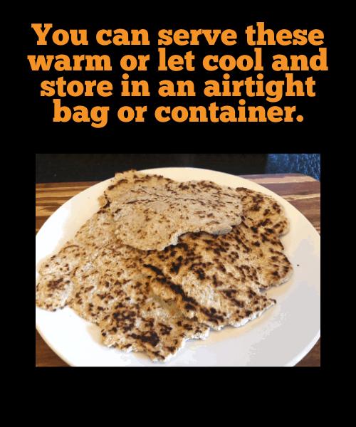 flatbread cooling