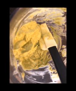 blended avocado