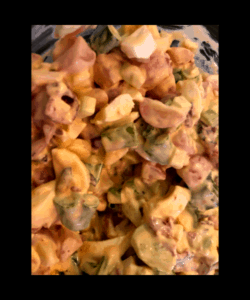 Keto Faux-tato salad