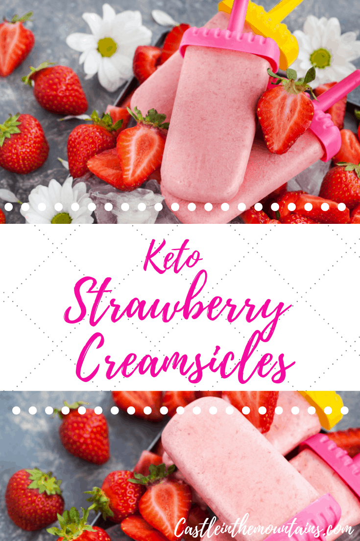 Strawberry & Key Lime Creamsicles