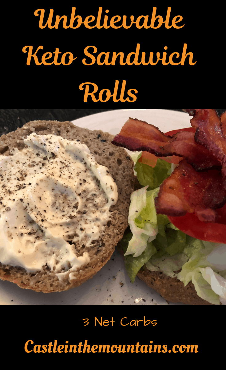 The Best Keto Sandwich Rolls that you will ever make
