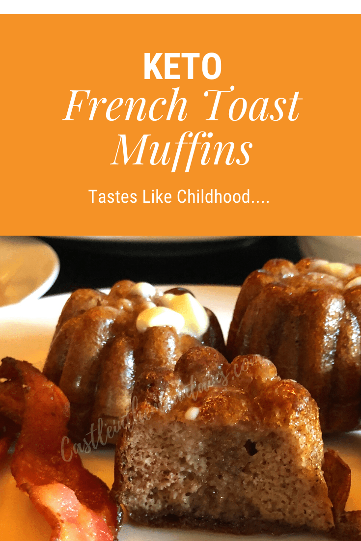 Fluffy Keto French Toast Muffins ~ 1.5 Carbs Per Muffin