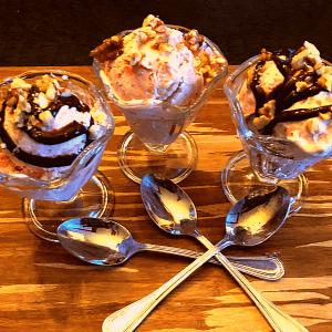Keto Strawberry Ice Cream recipe low carb gluten free