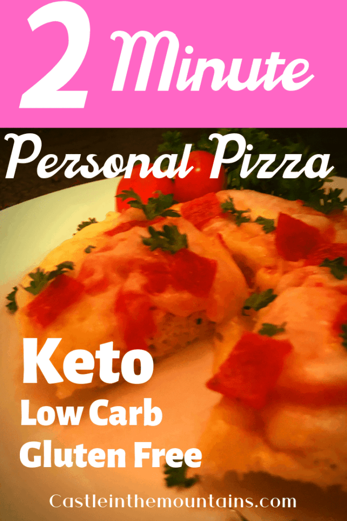 2 Minute Personal Pizza