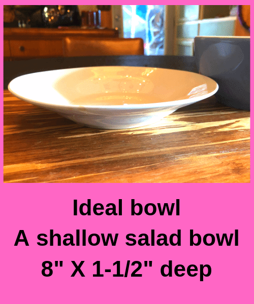 2 Minute Pizza Ideal Bowl