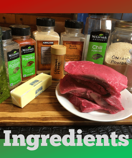 Keto Cajun Butter Steak Bites Ingredients