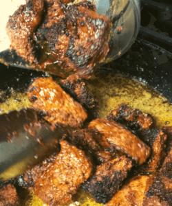 Cajun Butter Steak Bites Toss in Butter
