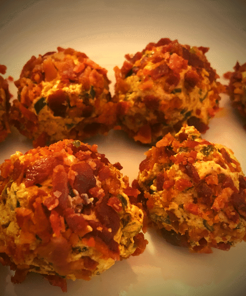 Jalapeno Cheddar Fat Bombs low carb gluten free