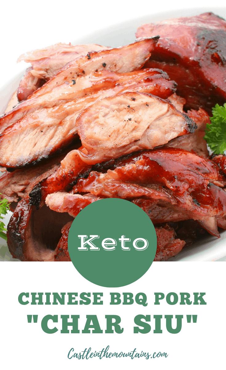 Keto Chinese BBQ Pork \
