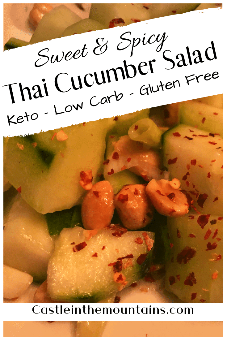 Keto Thai Cucumber Salad