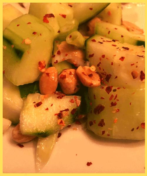 Sweet Spicy Thai Cucumber Salad