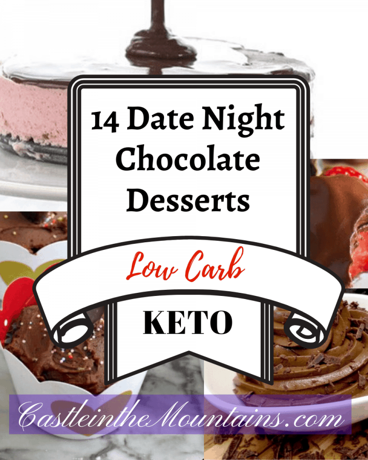 14 Delectable Chocolate Desserts recipes keto low carb gluten free